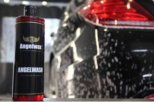 Angelwash Shampoo met drooghulp-2