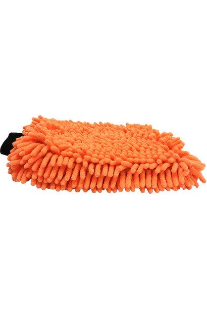 Chenille Washmitt Microfiber Orange