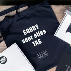 TASjeblieft Sorry voor alles tas