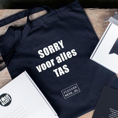 Sorry voor alles tas