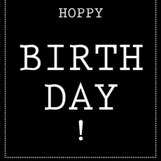Hoppa groot - Hoppy Birthday!