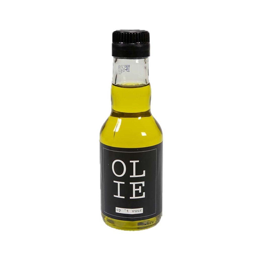 Flessenwerk Olie op 't vuur  - extra virgine olijfolie - klein