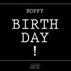 Flessenwerk Hoppa klein - birthday