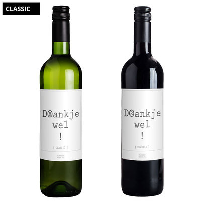 Flessenwerk Wijn - Drankjewel! - Classic