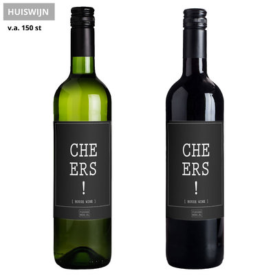 Flessenwerk Wijn - Cheers! - Huiswijn