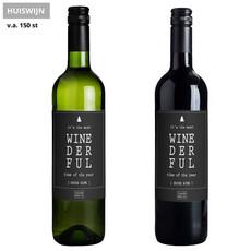 Flessenwerk Wijn - Winederful - Huiswijn