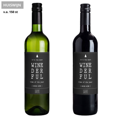 Flessenwerk Wine - Winederful - House wine