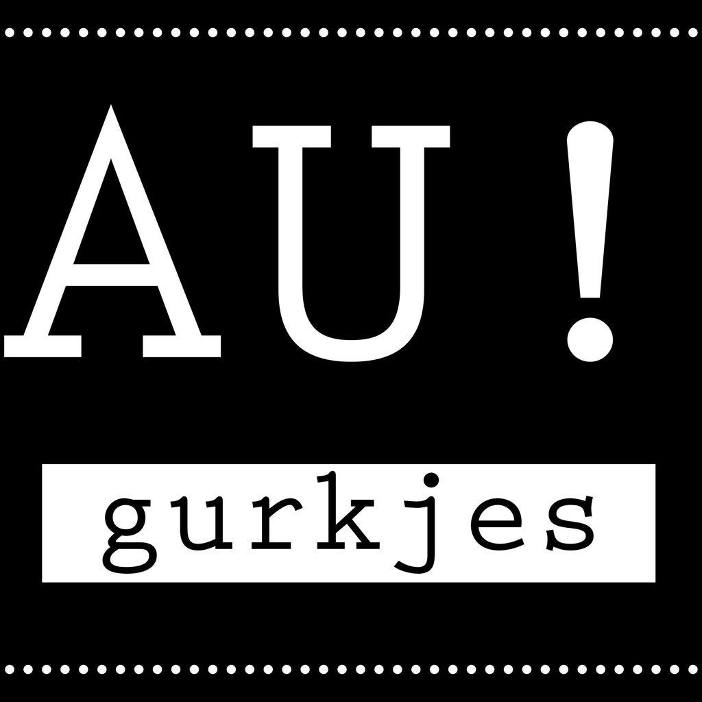 Flessenwerk AU! Gurkjes - petits cornichons