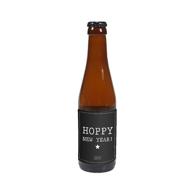 Flessenwerk Hoppa klein - Hoppy new Year