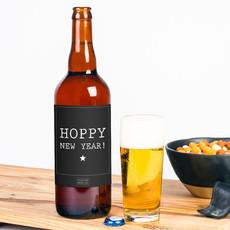 Flessenwerk Hoppa groot - Hoppy New Year!