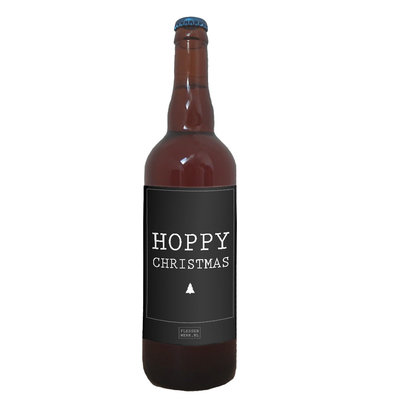 Flessenwerk Hoppa groot - Hoppy Christmas