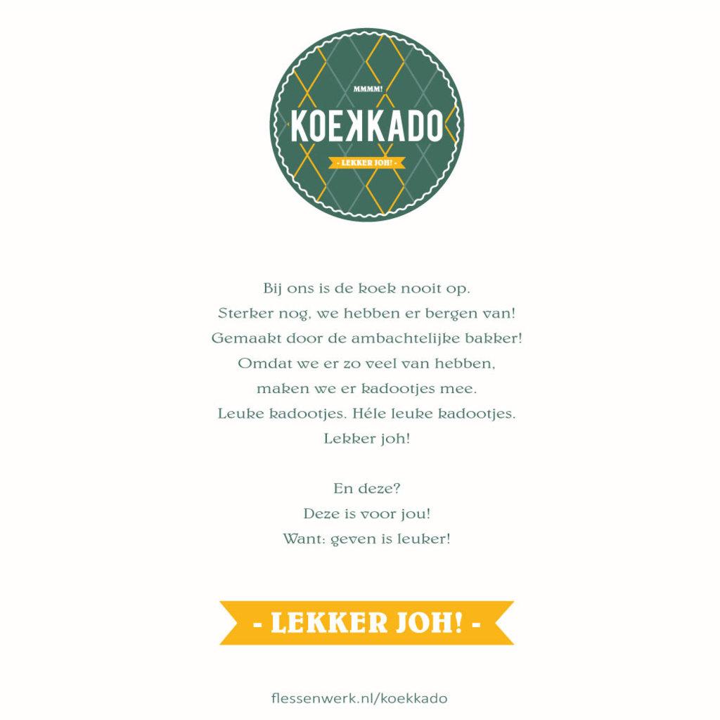 Koekkado  Koekkado - je wordt bedankt