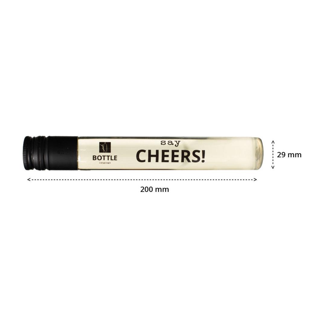 Wijntubes - say cheers