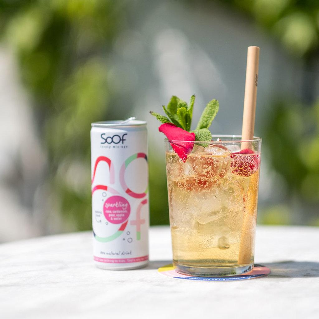 Soof Drinks SOOF - Sparkling Roos, Kardemom, Peer, Appel