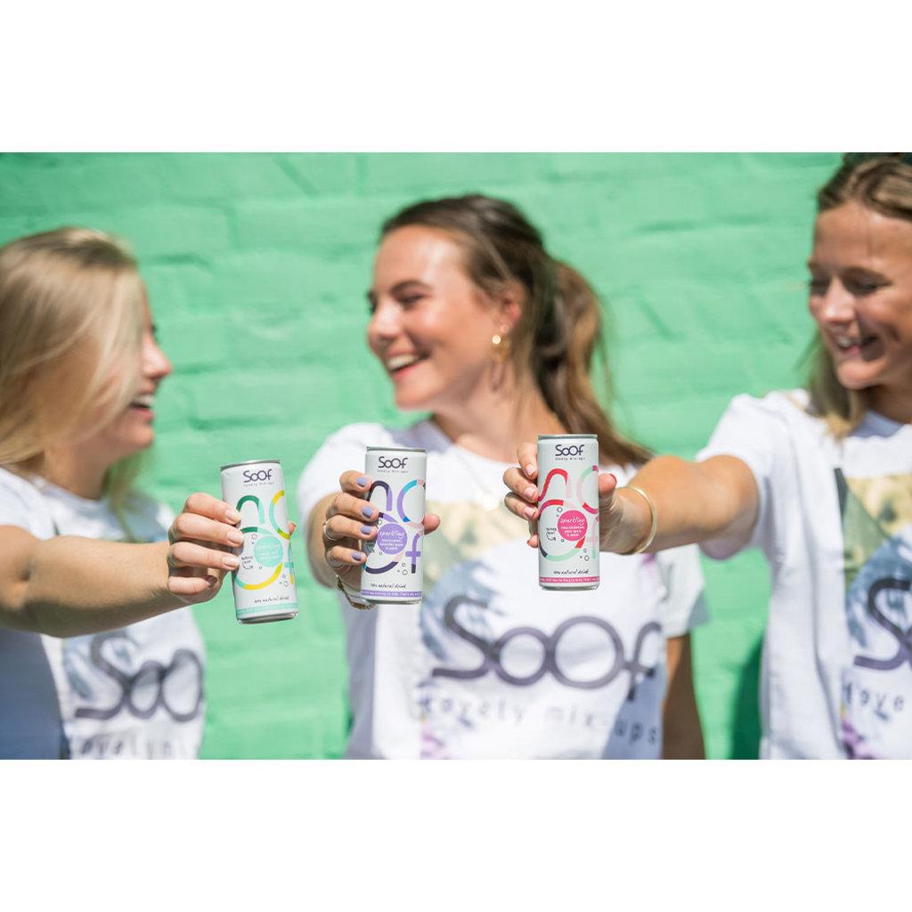 Soof Drinks SOOF - Sparkling Zwarte Bes, Lavendel, Appel