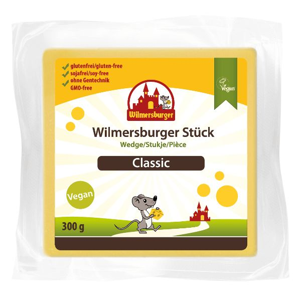 Wilmersburger Blok vegan kaas - classic