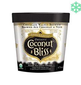 Coconut bliss Chocolate Walnut Brownie