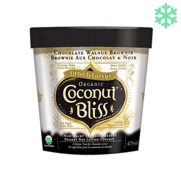 Coconut bliss Chocolate Walnut Brownie (alleen afhalen)