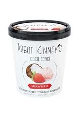 Abbot Kinney's Kokosijs aardbei klein (alleen afhalen)