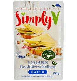 Simply V Plakjes vegan kaas naturel