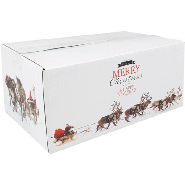 Vegan kerstpakket witte doos