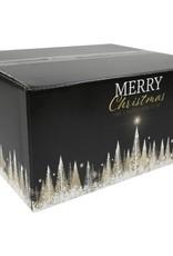 Vegan kerstpakket zwarte doos