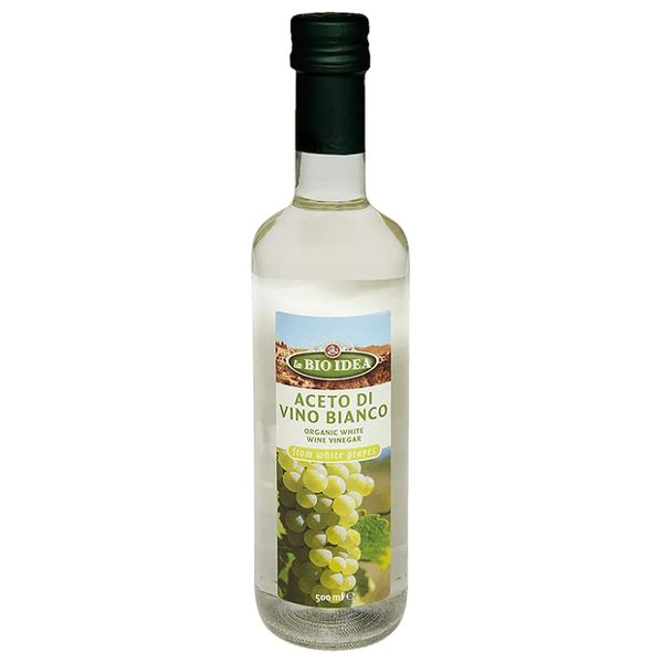 Biologische witte wijnazijn