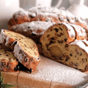Dutch Vegan Bakery Vegan kerststol
