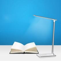 2-in-1 Bureaulamp met Draadloze Oplader