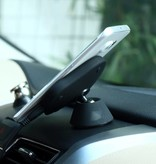 Qi Wireless Car Charger voor Dashboard - Wit