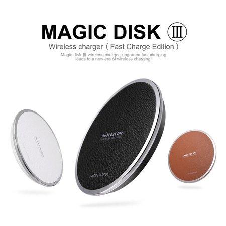 NILLKIN NILLKIN Magic Disk III Draadloze Snellader Pad - Wit