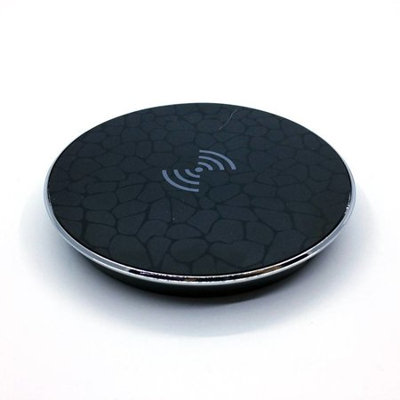 Qi Wireless Charging Pad - Zwart