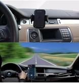 Draadloze Autolader met Ventilatiehouder - Zwart