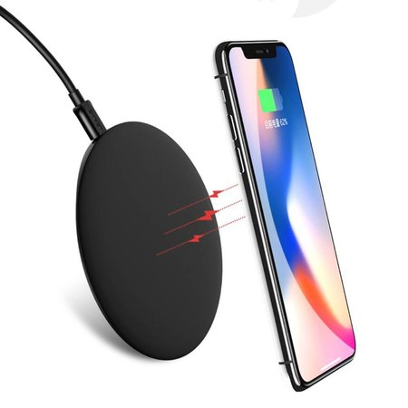 USAMS USAMS Boswell Series Fast Charging Pad - Zwart