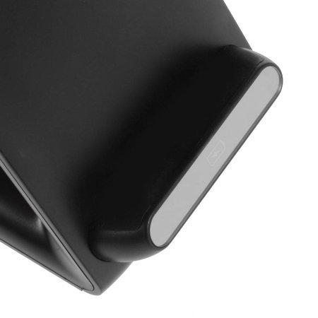 3 Coils QI Draadloze Oplader Dock - Zwart