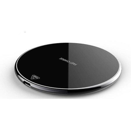 Qi Snelle Draadloze Oplader - Zwart