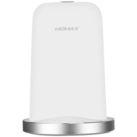 MOMAX MOMAX Q.Dock2 10W Qi Snelle Draadloze Oplader met LED Licht - Wit