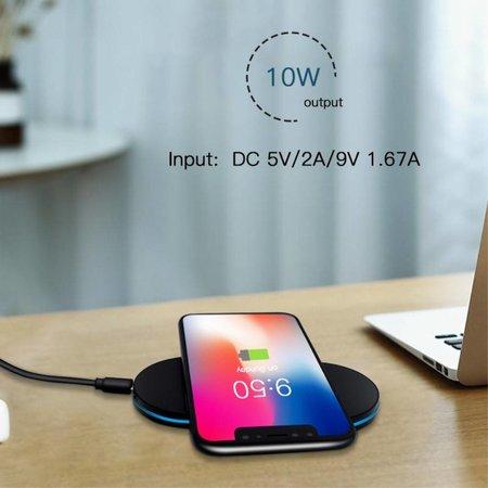 Wireless Charging Pad - Zwart