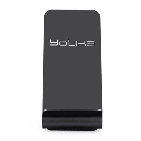YOLIKE YOLIKE Draadloze Oplader (Fastcharger) - Zwart