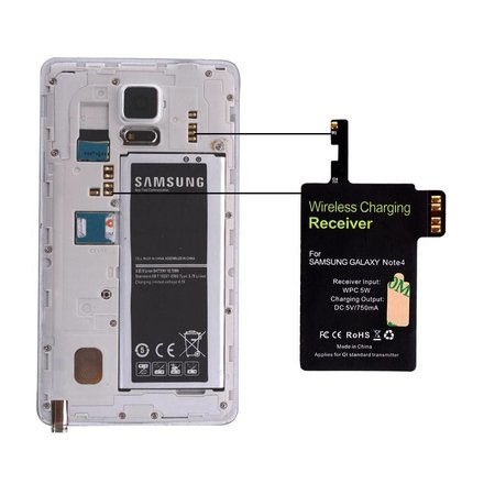 Qi Draadloze Ontvanger Samsung Galaxy S4