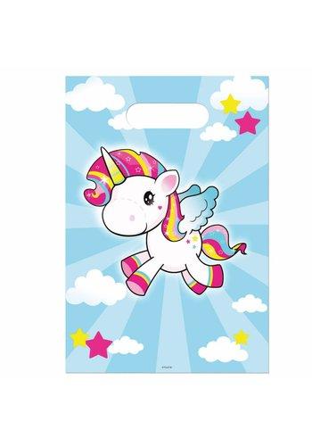 Unicorn feestzakjes - 8 stuks