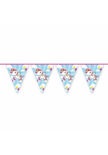 Unicorn vlaggenlijn - 10 meter