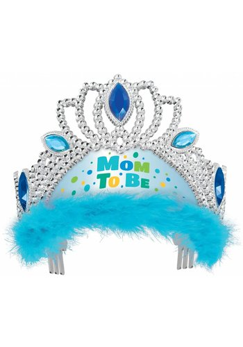 Tiara Mom to Be - Licht Blauw