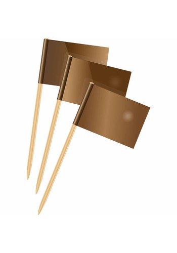 Prikkertjes brons - 50 stuks