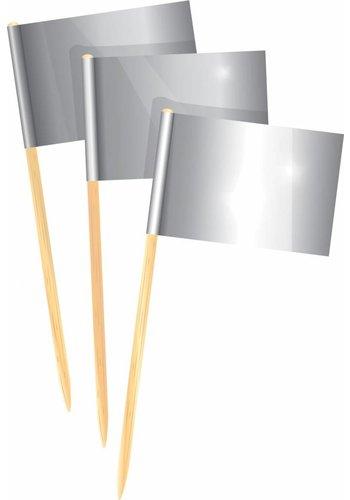 Prikkertjes zilver - 50 stuks