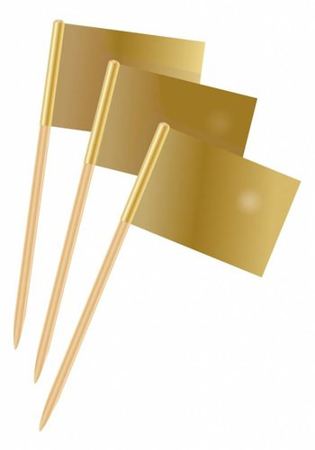 Prikkertjes goud - 50 stuks