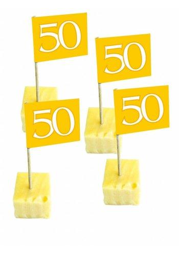 Prikkertjes Goud 50 - 50 stuks