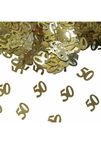 Tafel Confetti Goud 50 - 14 gram