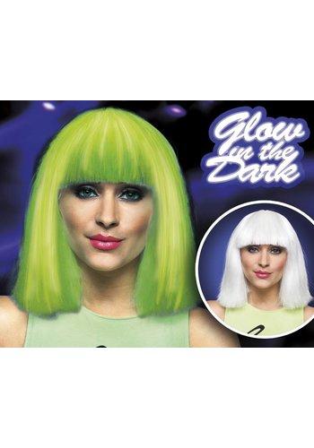 Pruik Chloë - Glow In The Dark