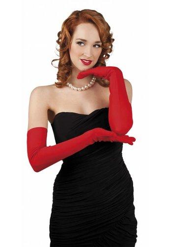 Handschoenen opera Los Angeles - rood